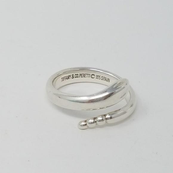 5cc09d5b0 Tiffany & Co Elsa Peretti Snake ring size 6. M_5c571a9b04e33dd80e3c15df